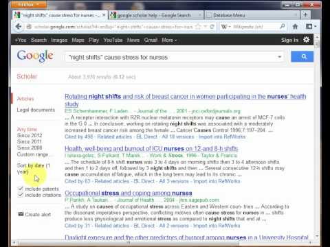 Google Scholar for journal article citations and occasional full text