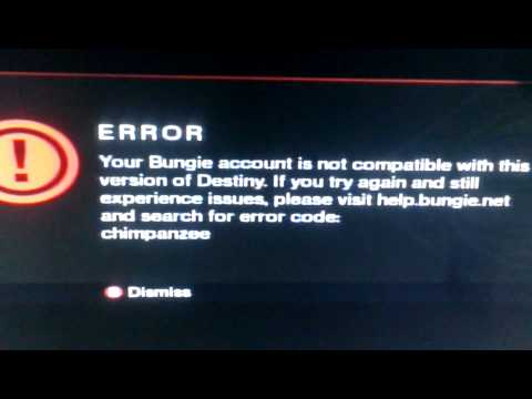 Destiny demo does not work/xbox360
