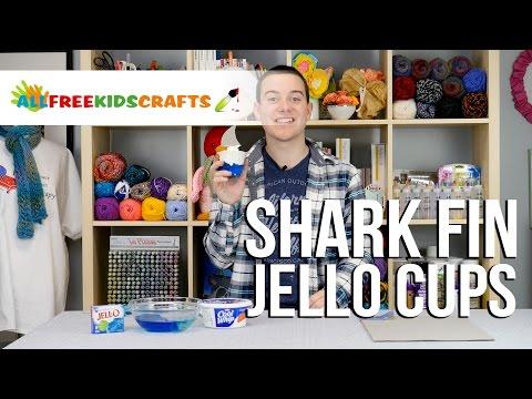 Shark Fin Jello Cups