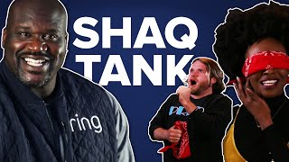 Blind Folded People Pitch Inventions To Shaq