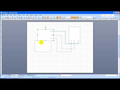Visio Connectors and Connection Points