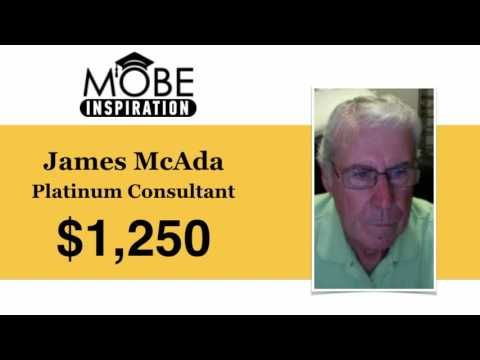 New Affiliate and Platinum Consultant James McAda Earns First Sale of $1,250!