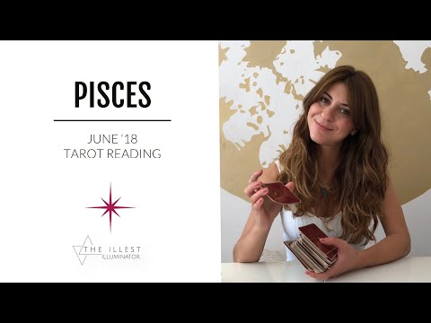 PISCES - ' SOMEONE WANTS TO APOLOGIZE' - JUNE Tarot Reading (Short-Cut)