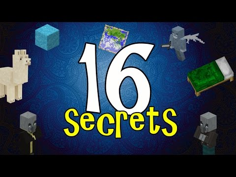 MCPE 1.1 SECRETS !!! 16 Things You May Not Know about Minecraft PE 1.1