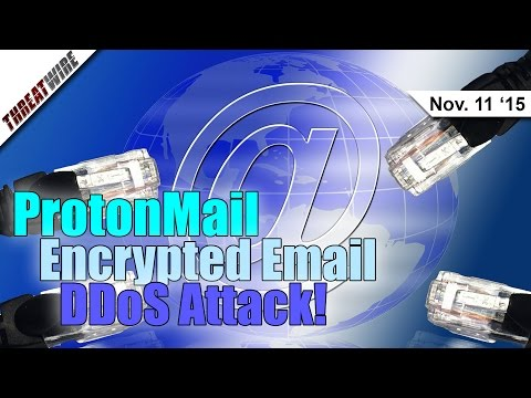 ProtonMail Encrypted Email DDoS Attack, Linux Ransomware?! - Threat Wire