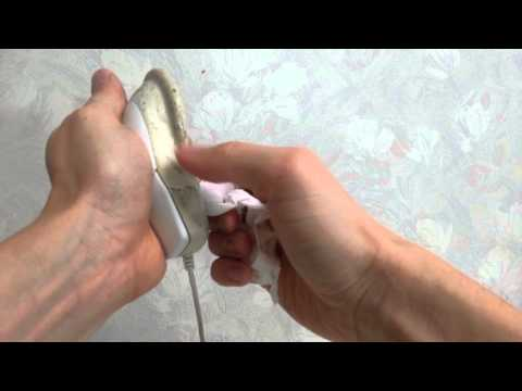 How to remove clean take off (mouse's) old sticky gooey rubber coating on electronics w/ alcohol