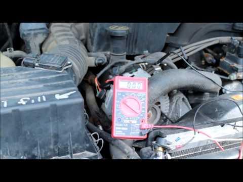 Ford, Mercury Alternator Broken Wire Problem, Alternator Wiring Test