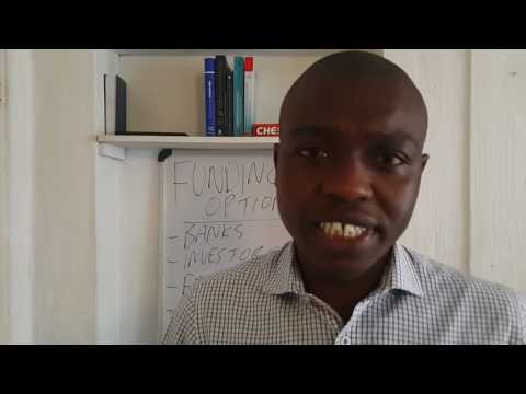 Funding Options, Munya Duvera, Johannesburg South Africa