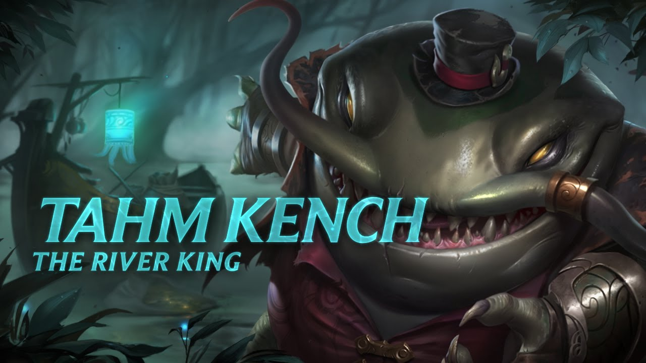 Tahm Kench: Champion Spotlight | Gameplay - League of Legends