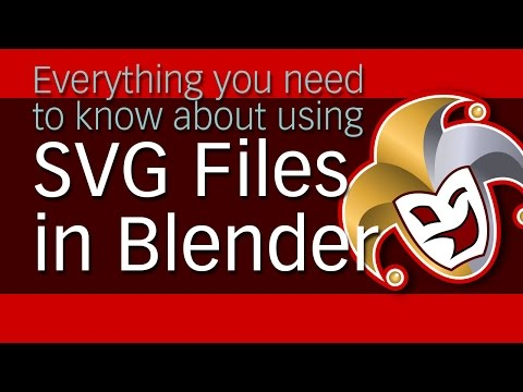 Everything you need to know about using SVG files in Blender