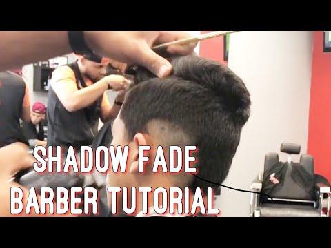 Barber Tutorial | Shadow Fade Sidepart with Scissor work!
