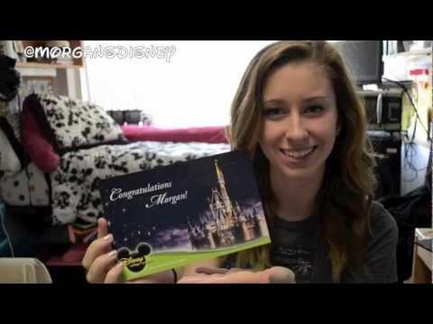 Disney College Program - Purple Acceptance Letter!