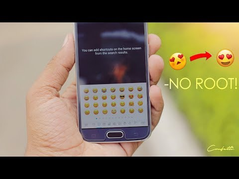 How To get iOS 11 Emoji on any Android Device! - No ROOT!