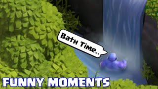 COC Funny Moments Montage | Glitches, Fails, Wins, and Troll Compilation #72