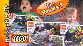 Lego Galaxy Squad Bonanza! Box Opening and Toy Review with HobbyFrog
