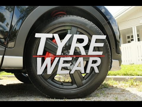 How to check my tyre tread
