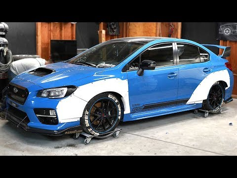 DIY Widebody 2016 WRX STI - Pt 2