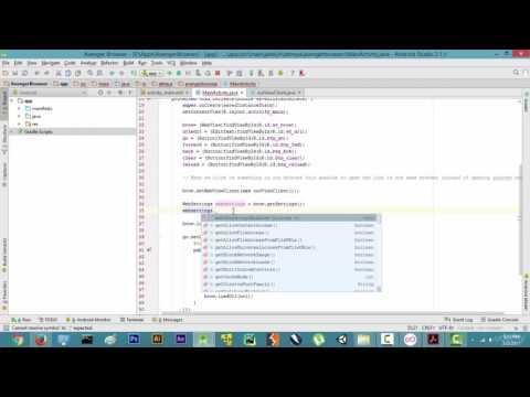 15   Enabling Javascript In Java - Making the web browser in Java Android app