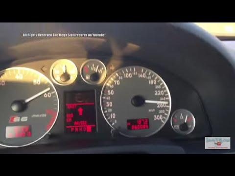 Audi S6 4B C5 test Autobahn - No speed limit Germany - Ein Ganz normaler Sonntagmorgen