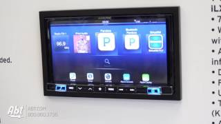 CES 2017 - Alpine Mech-Less 7 Inch Apple CarPlay and Android Auto Receiver [iLX-207]