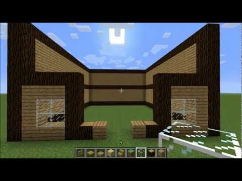 Minecraft - Small Wooden House Tutorial