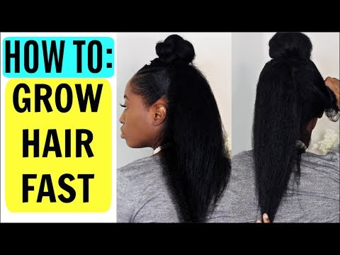 How to GROW Long, Thick, Healthy Hair FAST in 3 Easy Steps