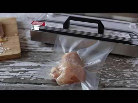 Vacuum Sealing Chicken Breasts
