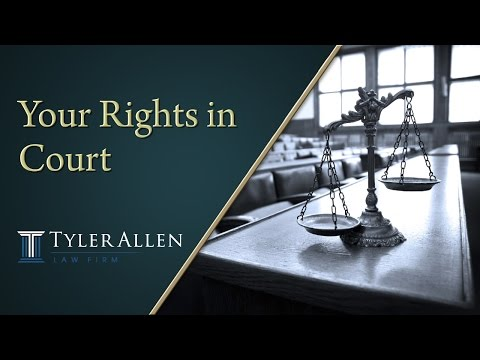 Your Rights in Court | (602) 456-0545 Phoenix, AZ