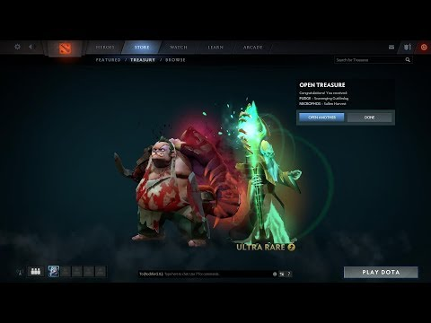 Tips and Trik How To Get Ultra Rare Immortal Treasure II International 2017
