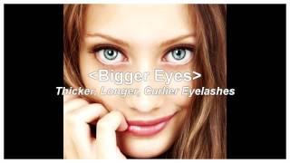 Bigger eyes and longer eyelashes FAST (Subliminal+Frequencies)