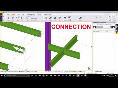 Download ARE11: 4 Types of Components in Tekla