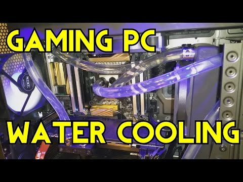 Gaming PC Custom Water Cooling