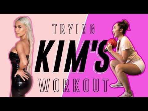 Kim Kardashian's Actual Butt Routine | Cassey Tries Celebrity Workouts
