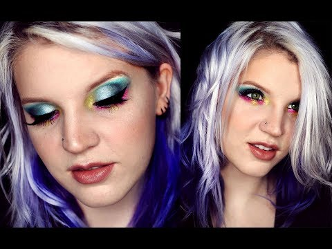 NYX Love You So Mochi | FIRST IMPRESSION Review and Colorful Makeup Tutorial