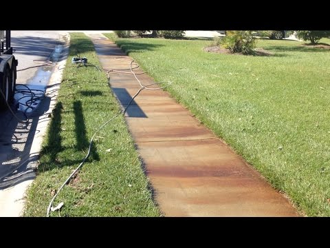 Rust Stain Removal Concrete Charleston, SC