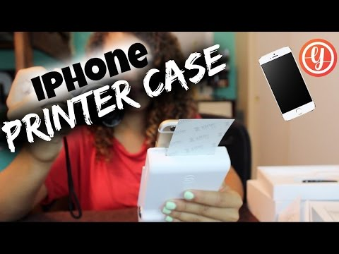 iPhone Printer Case Review | The Prynt