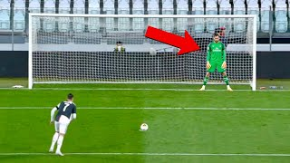 Funny Penalty Kicks in Football