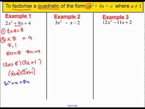 Factorising quadratics where a is not 1.mp4