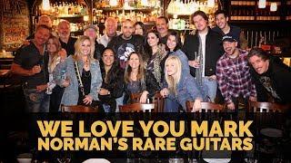 Mark Agnesi's Farewell Dinner with the Norman's Rare Guitars Family!