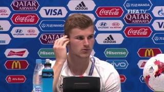 GER v CMR - Timo Werner - Germany Post-Match Press Conference