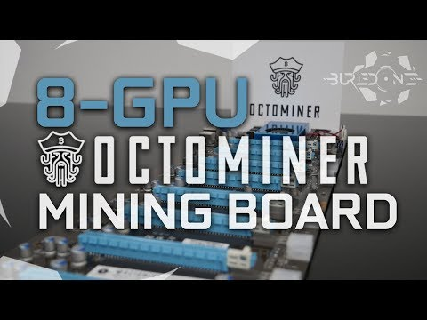 Octominer 8-GPU Riserless Mining Motherboard #Quickrev