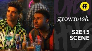 grown-ish Season 2, Episode 15 | Vivek & Doug Give Aaron Relationship Advice | Freeform