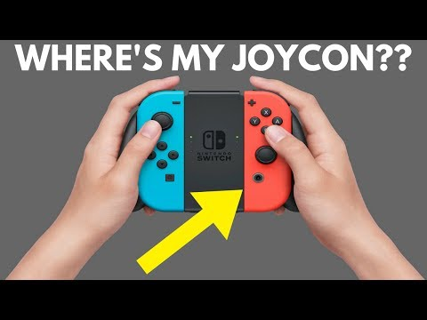 Lost a Joy Con? Here's How to Find it!! Nintendo Switch Update 3.0 | EASY