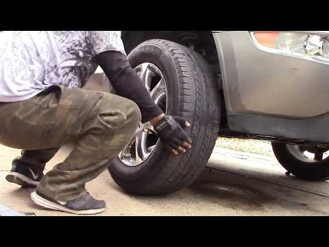 How to Replace the Lower Control Arm Bushings on a 2010 Buick Enclave