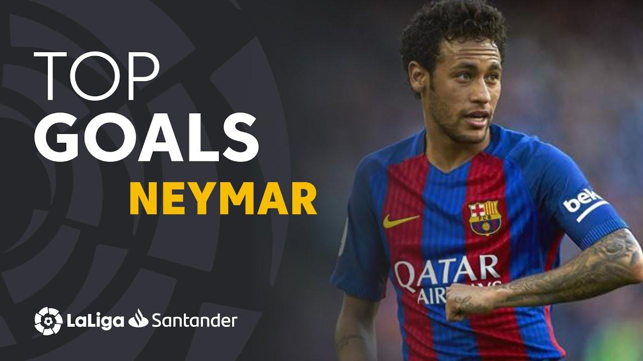 TOP 10 GOALS LaLiga Neymar Jr