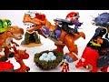 Mega T Rex Protect Our Eggs Primeval Dino Vs Mecha Dino ToyMart TV