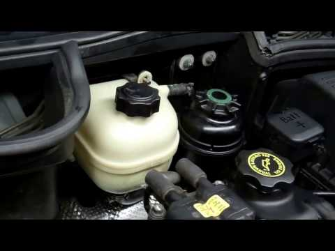 How to replace the coolant water head tank on BMW Mini Cooper s