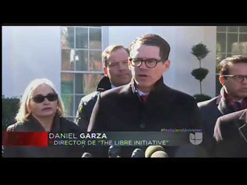 President of The LIBRE Initiative Daniel Garza Discusses Immigration from the White House