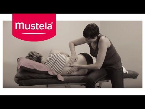 Relaxing back massage for pregnant women | Mustela