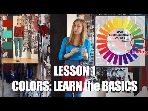FASHION DIVA - LESSON 1 - COLORS: learn the basics